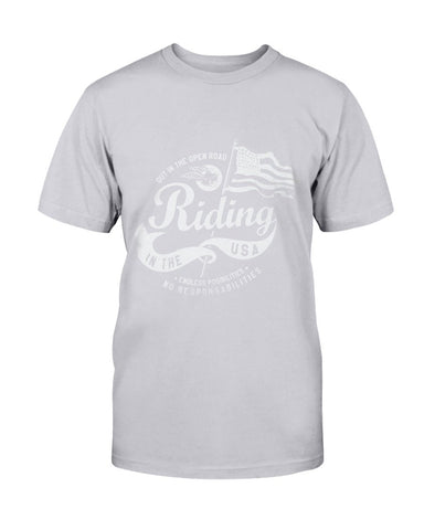 Image of Biker Flag T-Shirt