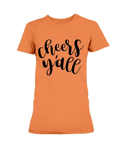 Image of Cheers Y'all T-Shirt