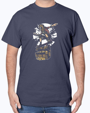 Image of Diving Skater Treasure T-Shirt