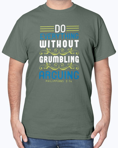 Image of Do Everything Without Grumbling Men's T-Shirt