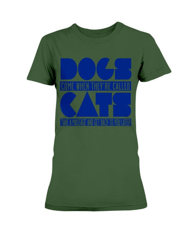 Dogs Vs. Cats T-Shirt