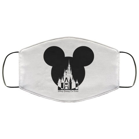 Image of Face Mask Mickey Minnie Mouse 3