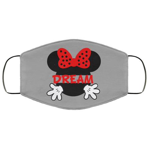 Face Mask Mickey Minnie Mouse 7