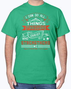 I Can Do All Through Christ T-Shirt Men's