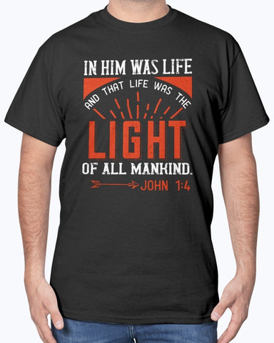 Image of In Him Was Life T-Shirt Men's