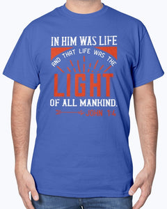 In Him Was Life T-Shirt Men's