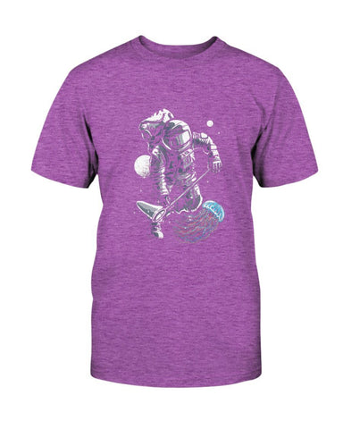 Image of JellyFish and Astronaut T-Shirt