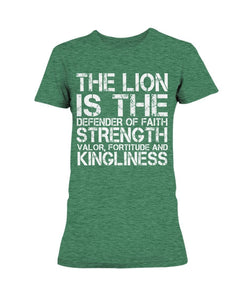 Lion Defender Of The Faith T-Shirt