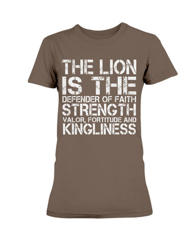 Image of Lion Defender Of The Faith T-Shirt