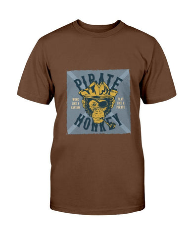 Image of Pirate Monkey Chimp T-Shirt