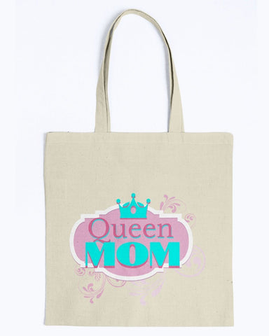 Image of Queen Mom Tote Bag