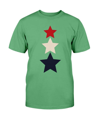 Image of Red White and Blue Stars T-Shirt