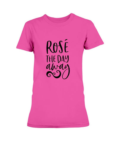 Image of Rose The Day Away T-Shirt