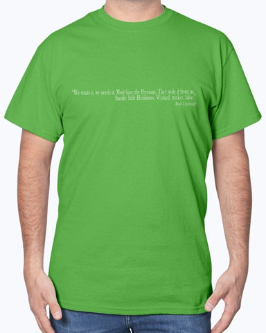 Image of Rush Limbaugh As Sméagol - Effed Up Quotes T-Shirt
