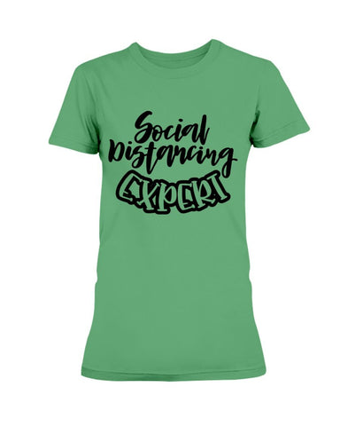 Image of Social Distancing Expert Women's T-Shirt