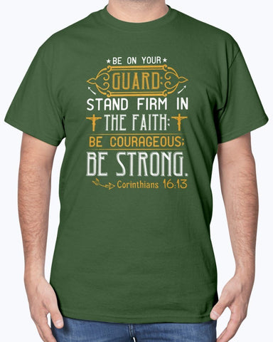 Image of Stand Firm In The Faith Men's T shirt