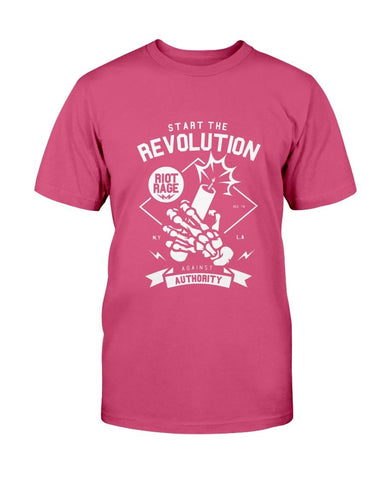 Image of Start The Revolution Against Authority T-Shirt