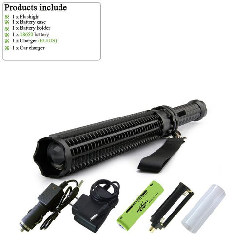 Tactical Baton Flashlight
