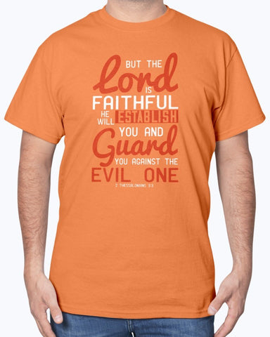 The Lord Is Faithful Men's Tee