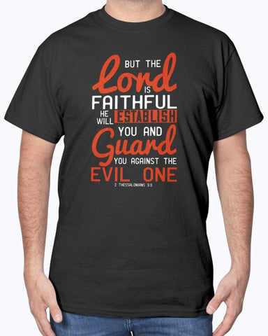 Image of The Lord Is Faithful Men's Tee