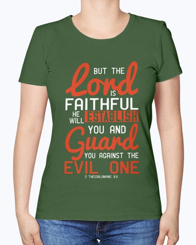 Image of The Lord Is Faithful Women's Tee
