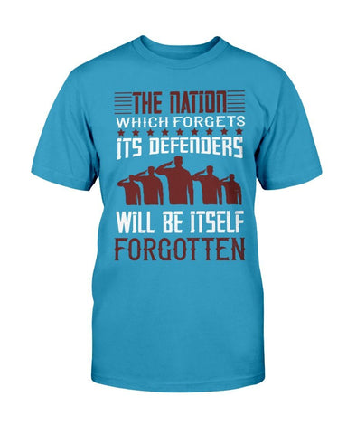 Image of The Nation That Forgets - Veteran's T-shirt
