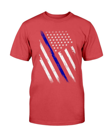 Image of Thin Blue Line Flag T-Shirt