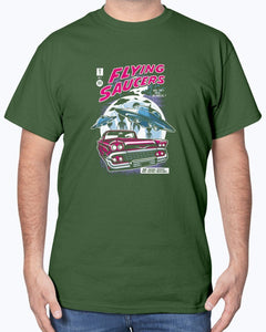 UFOs Flying Saucer SciFi T-Shirt