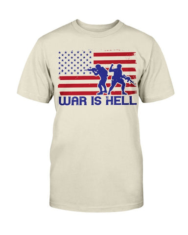 Image of War Is Hell - Veteran T-Shirt