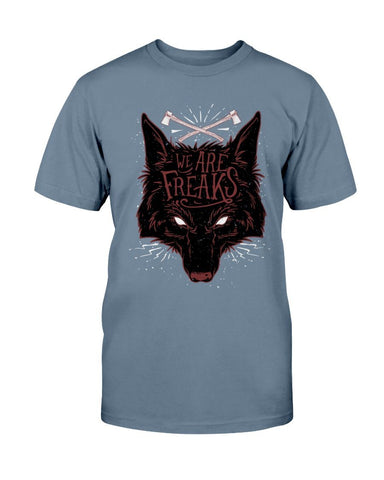 We Are Freaks Wolf T-Shirt