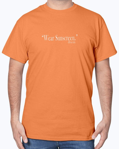 Image of Wear Sunscreen -Dracula Quote Effed Up Quotes T-Shirt