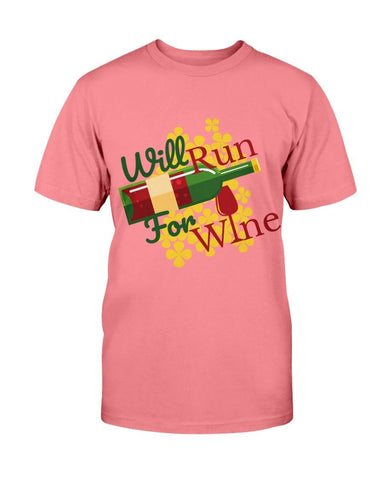 Image of Will Run For Wine T-shirt