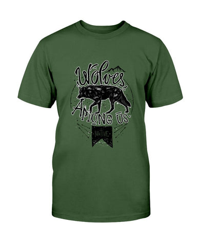 Image of Wolf T-Shirt - Wolves Among Us