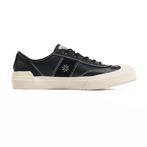 Sage Footwear Core Black Leather Sneakers