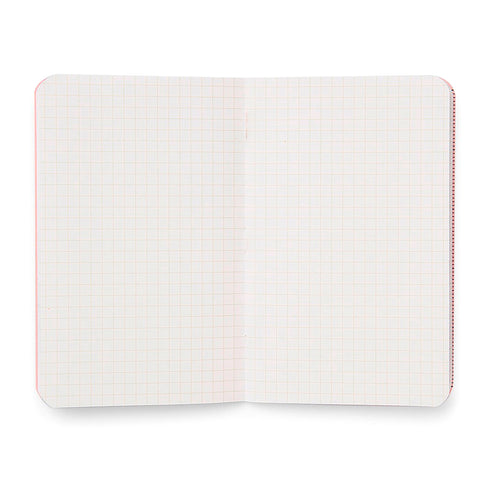 The grid layout pages of a Field Notes notebook