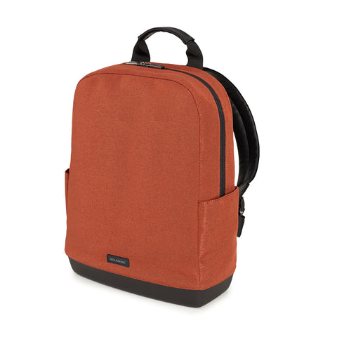 Moleskine The Backpack Collection Canvas backpack in Russet Brown finish