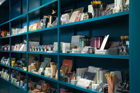 Our wall of stationery love