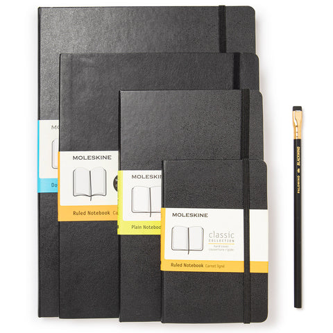 Milligram Notebooks from Pocket to Extra Large