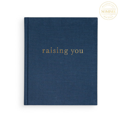 "Write To Me's ""Raising You"" journal in navy blue"