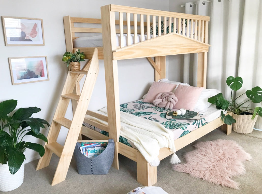 Picture of: Family Bunk Beds Made From Wood Nz