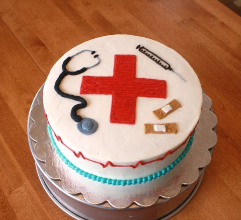FRESH CREAM DOCTOR THEME CAKE