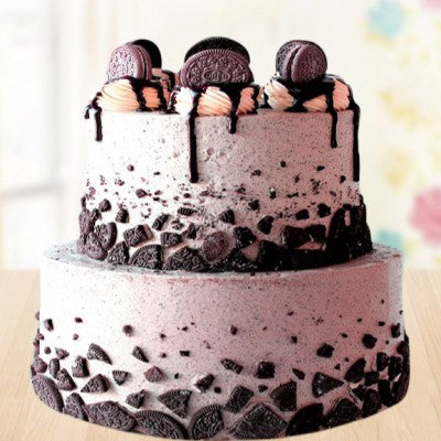 2 TIER OREO CHOCOLATEY CAKE