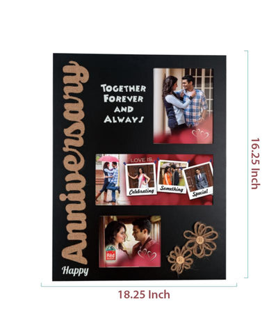 3 Photos Wooden Photo Frame