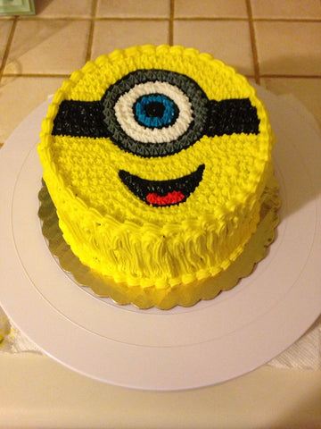 YELLOW MINION CAKE