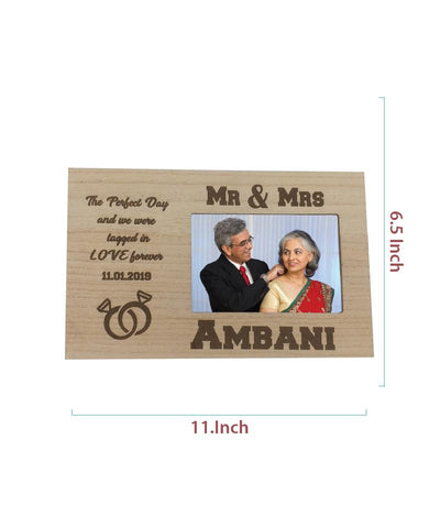 Engraved Photo Frame