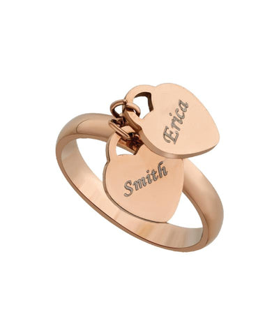 Name Engraved Ladies Ring - F-16