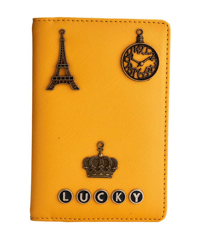 Passport Holder (Yellow)