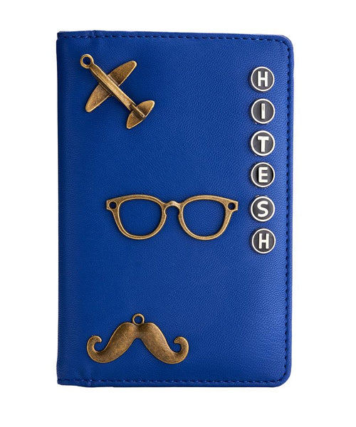 Passport Holder (Blue)