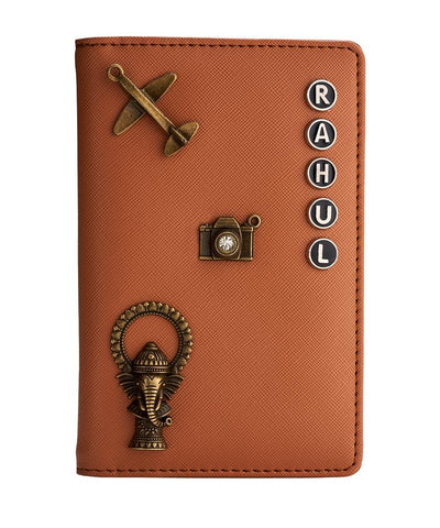 Passport Holder (Dark Brown)