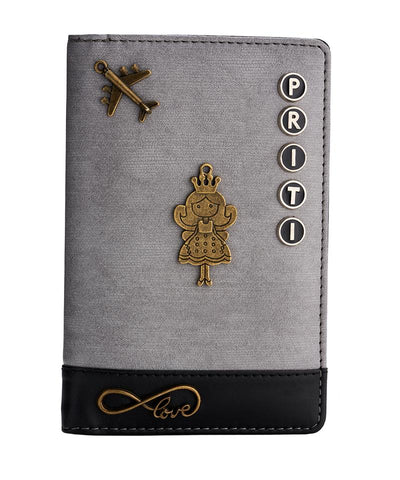 Passport Holder (Grey Black)
